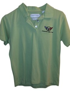 TEHAMA Polo Corvette Top Apple Green