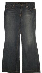 Mossimo Supply Co. Stretch Dark Wash Boot Cut Jeans-Dark Rinse