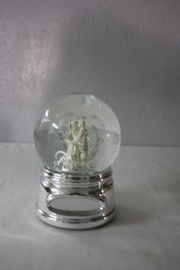 Danbury Falls Forever Wedding Water Globe