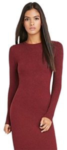 Cynthia Rowley short dress Burgundy Oxblood Maroon on Tradesy