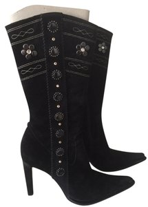 Le Silla Studded Black Boots