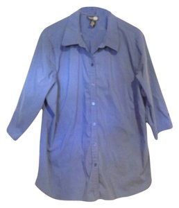 Venezia Jeans clothing co Button Down Shirt royal blue