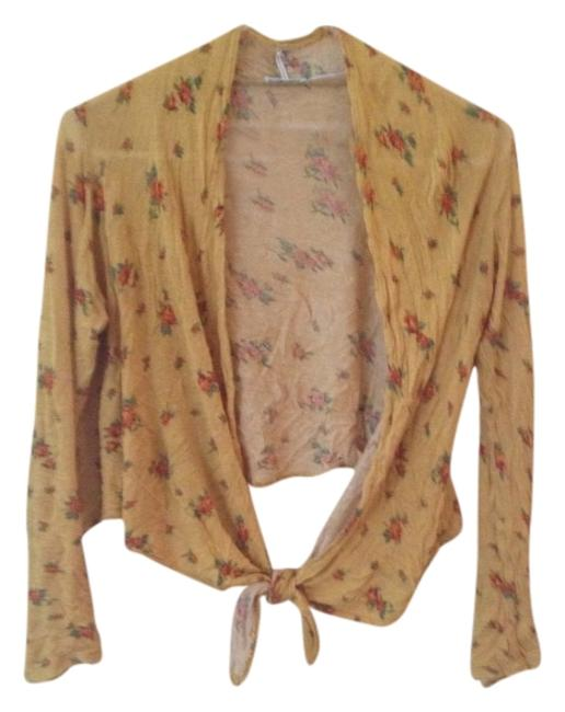 Urban Outfitters Floral Floral Cardigan