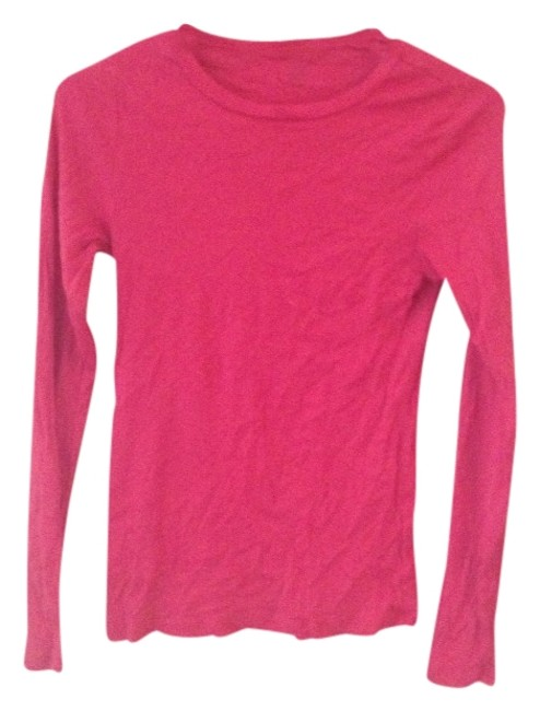Preload https://item3.tradesy.com/images/jcrew-pink-tee-shirt-size-8-m-792287-0-0.jpg?width=400&height=650