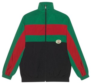Gucci Green Red and Black Jacket