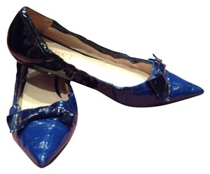 Prada Cobalt blue and black Flats