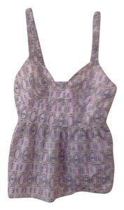 Banana Republic Print Print Top purple