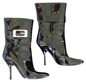 Gucci Patent Prada Chanel Designer Winter Ankle Sexy New Blac Boots