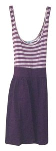 Urban Outfitters short dress Maroon Strip Striped on Tradesy
