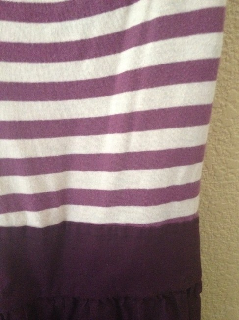 Urban Outfitters short dress Maroon Strip Striped Jersey on Tradesy Image 1