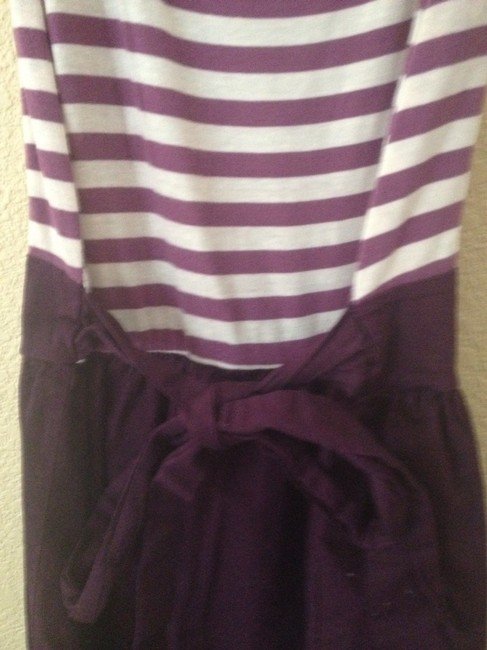 Urban Outfitters short dress Maroon Strip Striped Jersey on Tradesy Image 2