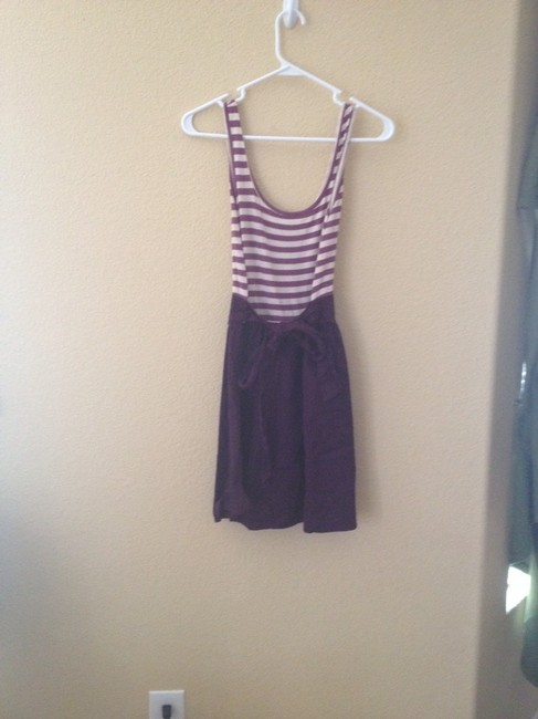 Urban Outfitters short dress Maroon Strip Striped Jersey on Tradesy Image 3