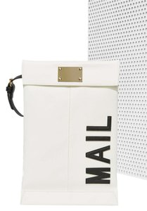 Nasty Gal white Clutch