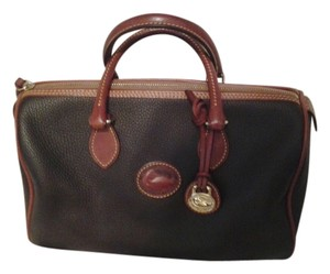Dooney & Bourke Satchel in Brown all weather leather