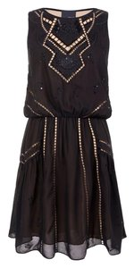 Greylin New Year's Eve Embroidered Dress