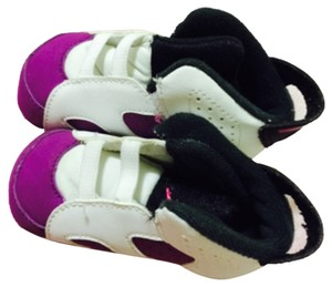 Infant Nike jordans Purple and white Athletic