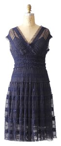Max Studio Sequin Ruffle Dress