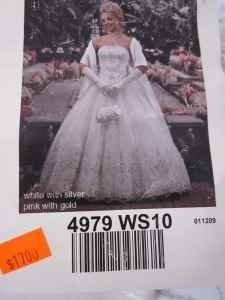 Mary's Bridal White Lace 4979 Ws10 Formal Wedding Dress Size Other