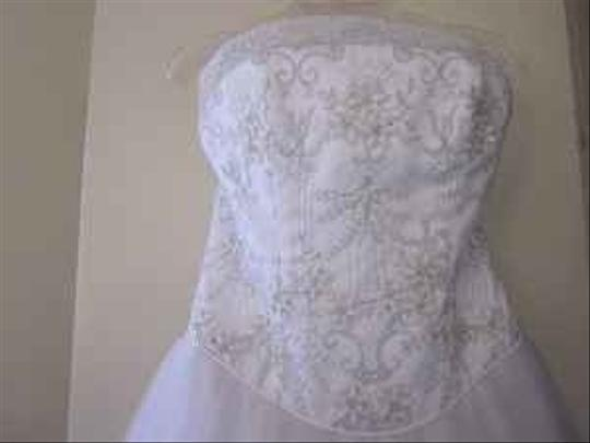 Mary's Bridal White Lace 4979 Ws10 Formal Wedding Dress Size Other Image 1