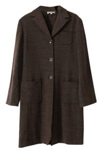 Parallel Wool Blend Coat