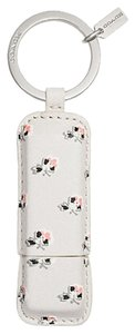 Coach New In Packaging! FLORAL PRINT 8GB USB KEY RING, 63405 KEYRING KEY CHAIN - EXTREMELY HARD TO FIND