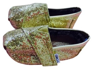 TOMS Sequence gold Flats
