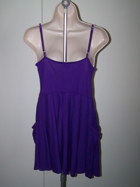 Ambiance Apparel short dress Purple Medium Juniors Spaghetti Strap on Tradesy