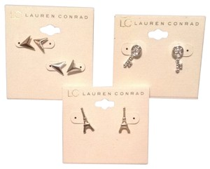 LC Lauren Conrad Set Of 3 LC Lauren Conrad Earrings