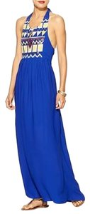 Blue Maxi Dress by C. Luce