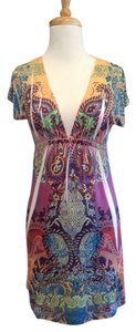 Vegas Royalty short dress multicolored on Tradesy