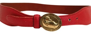 Dooney & Bourke Dooney & Bourke Red Designer Belt 73009