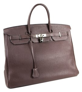Hermès Hermes Excellent Brikin 40 Satchel in Brown