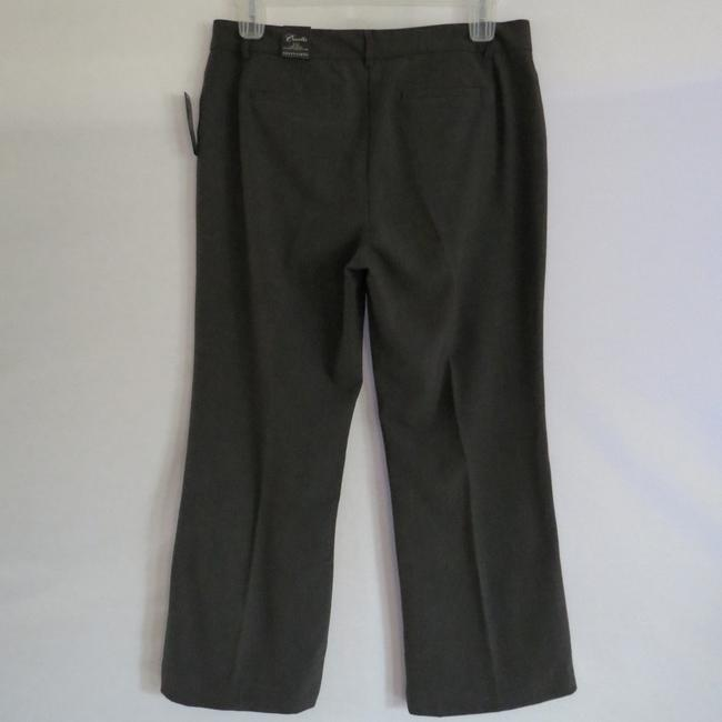 Apostrophe Boot Cut Pants Dark Grey