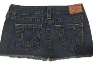 Tory Burch Mini Skirt Denim