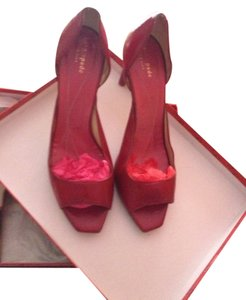 Kate Spade Red Pumps