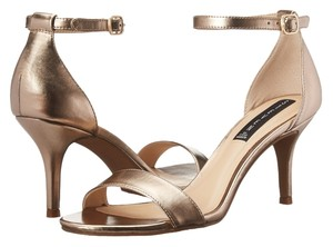Steven by Steve Madden metal gold Sandals