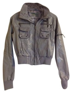 Paper Denim & Cloth Faux Leather Moto Zippers Spring Motorcycle Jacket
