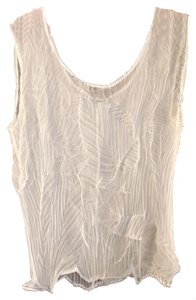 Modelli Vintage 1990 Sheer Top White