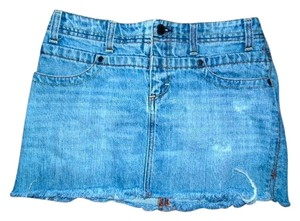 American Eagle Outfitters Jeans Mini Skirt DENIM