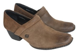 Børn Leather Sale Brown Mules