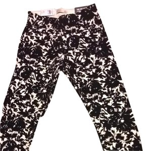 Abercrombie & Fitch Black And White Leggings