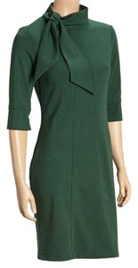 I-N-S-I-G-H-T New York Tie-neck Ponte Mad Men Dress