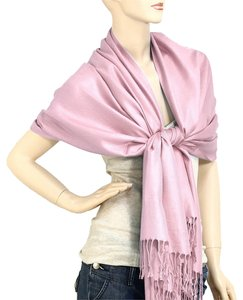 Other Pashmina Silk Scarf Wrap Shawl Light Lavender