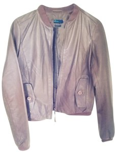 United Colors of Benetton Brown Leather Jacket
