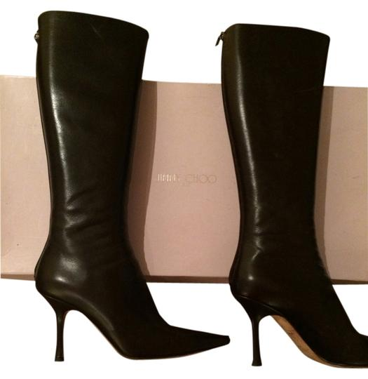 Jimmy Choo Brown Boots