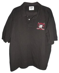 Lee Buffalo Sabres Embroidered Button Down Shirt Black
