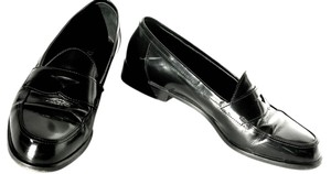 Prada Black Leather Flats