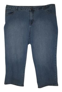Style & Co Capri/Cropped Pants Blue