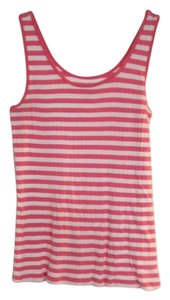 Old Navy Top Pink White