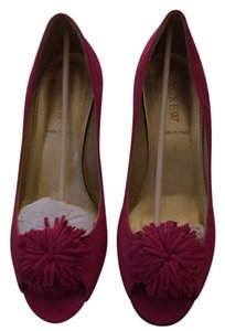 J.Crew Bright Azalea Pumps